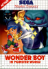 Wonder Boy in Monster World Sega Master System cover artwork
