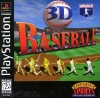 3D Baseball Sony PlayStation cover artwork