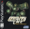 Armored Core - Project Phantasma Sony PlayStation cover artwork