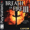 Breath of Fire III Sony PlayStation cover artwork