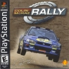 Colin McRae Rally Sony PlayStation cover artwork