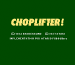 Choplifter ! title screenshot