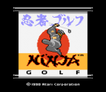 Ninja Golf title screenshot