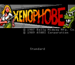 Xenophobe title screenshot