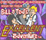 Bill & Ted's Excellent Adventure title screenshot