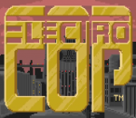 Electrocop title screenshot