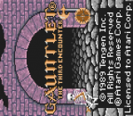 Gauntlet - The Third Encounter title screenshot