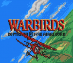 Warbirds title screenshot