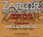 Zarlor Mercenary title screenshot