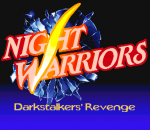 Night Warriors : Darkstalkers' Revenge title screenshot