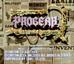 Progear title screenshot