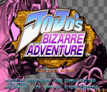 JoJo's Bizarre Adventure title screenshot