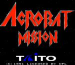Acrobat Mission title screenshot