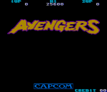 Avengers title screenshot