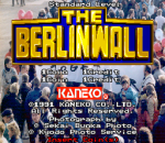 Berlin Wall, The title screenshot