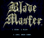 Blade Master title screenshot