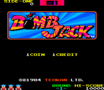 Bombjack title screenshot