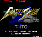 Battle Shark title screenshot
