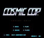 Cosmic Cop title screenshot