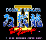 Double Dragon 2 : The Revenge title screenshot