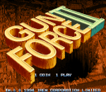 Gun Force II title screenshot