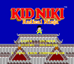 Kid Niki - Radical Ninja title screenshot