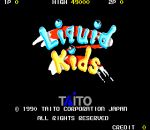 Liquid Kids title screenshot