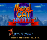 Magical Cat Adventure title screenshot
