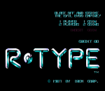 R-Type title screenshot