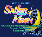 Pretty Soldier Sailor Moon title screenshot