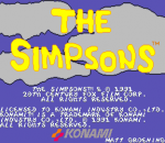 Simpsons, The title screenshot