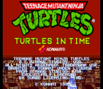Teenage Mutant Ninja Turtles - Turtles in Time title screenshot