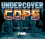 Undercover Cops title screenshot