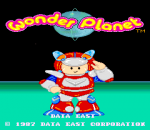 Wonder Planet title screenshot