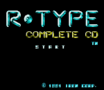 R-Type Complete CD title screenshot