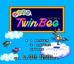Detana!! TwinBee title screenshot