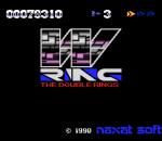 W-Ring - The Double Rings title screenshot