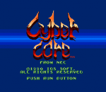 Cyber Core title screenshot