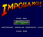 Impossamole title screenshot
