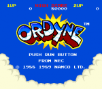 Ordyne title screenshot