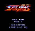 SideArms - Hyper Dyne title screenshot