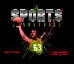TV Sports Basketball title screenshot