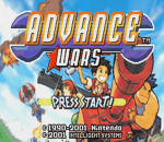 Advance Wars title screenshot