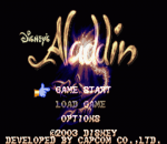 Aladdin title screenshot