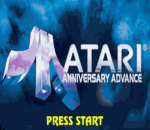 Atari Anniversary Advance title screenshot