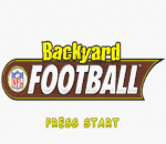 Backyard Football title screenshot