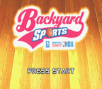 Backyard Sports - Basketball 2007 title screenshot