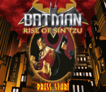 Batman - Rise of Sin Tzu title screenshot