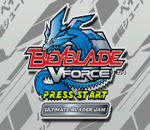 Beyblade V-Force - Ultimate Blader Jam title screenshot
