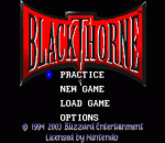 Blackthorne title screenshot